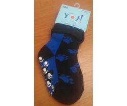 Froté ponožky s protišmykovou úpravou Yo Blue Thunder