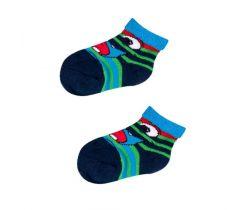 Froté ponožky s protišmykovou úpravou Yo Green Monster