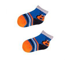 Froté ponožky s protišmykovou úpravou Yo Orange 8