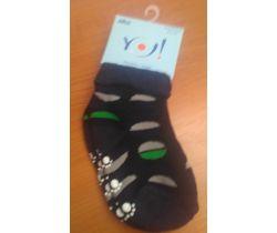 Froté ponožky s protišmykovou úpravou Yo Rounds