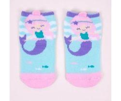 Froté ponožky YO s 3D prvkom Mermaid