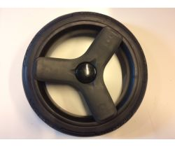 Gelové zadné náhradné koleso černé Uzo
