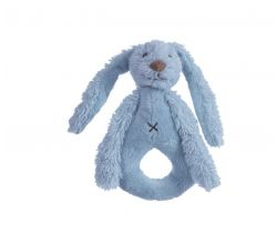 Hrkálka Happy Horse Králíček Richie 18 cm Sýto modré