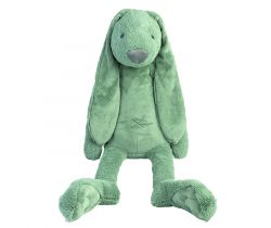 Plyšová hračka Happy Horse Králíček Richie 100 cm XXL BIG Zelený