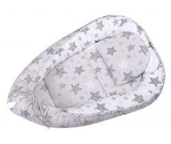 Hniezdo LittleUp Stars Grey
