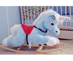 Hojdacia hračka Smyk Blue Unicorn