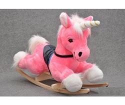 Hojdacia hračka Smyk Pink Unicorn