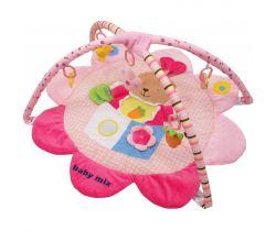 Hracia deka BabyMix Pink Rabbit