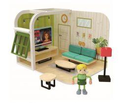 Hrací set 36m + Jouéco Obývačka
