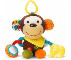 Hračka na kočík 3m + Skip Hop Bandana Buddies Opička