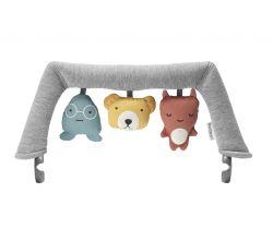 Hračka na ležadlo textilné zvieratka BabyBjörn Soft Friends