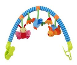 Hrazdička s hračkami BabyMix  Lienka