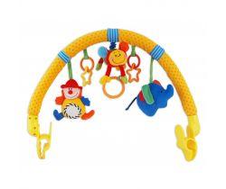 Hrazdička s hračkami Baby Mix Klaun
