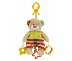 Hudobná hračka BabyMix Medvedík s kapucňou