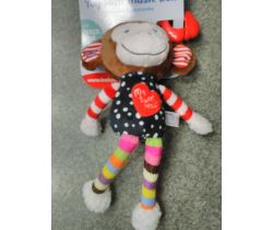 Hudobná hračka BabyMix Monkey My Sweet Heart