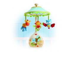 Hudobný kolotoč s lampičkou a projekciou na strop Tiny Love