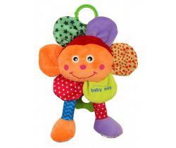 Hudobná plyšová hračka BabyMix Kvetinka