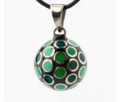 Hudobné prívesok Babylonia Bola Green Dots