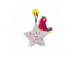 Hviezdička s vtáčikom do auta Mamas & Papas Baby On Board