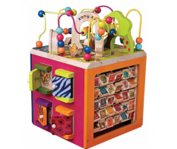 Interaktivné kostka B-Toys Zany Zoo