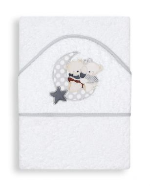 Osuška froté 100x100 cm Interbaby Medvedík s nechtíkom