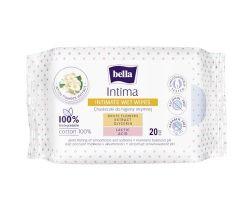 Intímne vlhčené obrúsky 20 ks Bella Intima