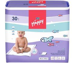 Jednorázové prebaľovacie podložky 60x60 cm Bella Baby Happy 30 ks