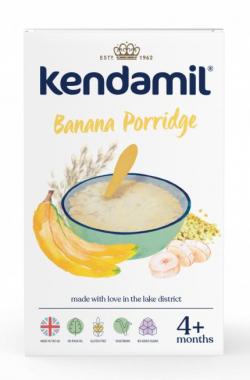Jemná detská banánová kaša 150 g Kendamil