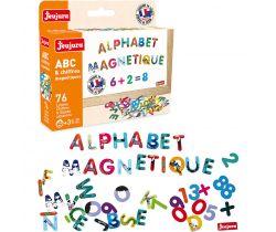 Farebná magnetická písmenká 76ks Jeujura