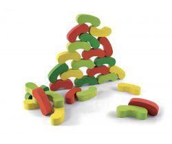 Farebné fazuľky Jeujura 60 dielikov