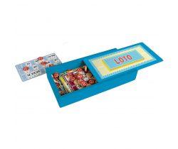 Bingo v drevenej krabičke Jeujura