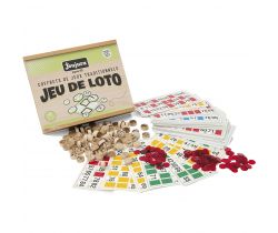 Bingo v drevenom boxe Jeujura