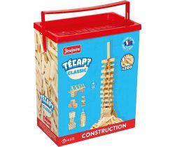 Drevená stavebnica Jeujura TECAP 200 dielikov