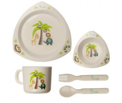 Jedálenská sada Bo Jungle Dinner Set