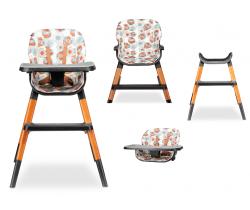 Jedálenská stolička Lionelo Mona 4v1