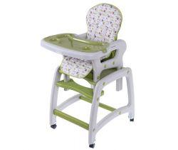 Jedálenská stolička 3v1 EcoToys Green