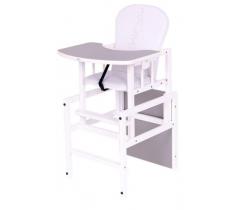 Jedálenská stolička Drewex Antos Silver