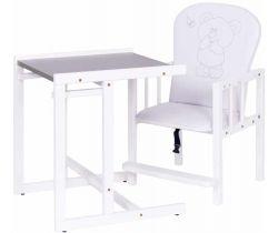 Jedálenská stolička Drewex Antos Silver Bear