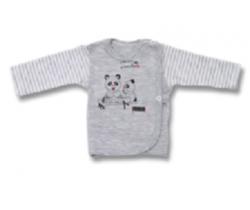Kabátik Lafel Panda White/Grey