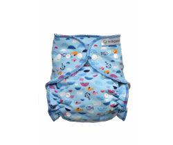Nohavičková plienka T-Tomi prebaľovací set Patentky