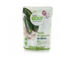 Kapsička Cuketové rizoto s kozím syrom 190 g Good Gout Bio