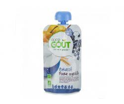 Kapsička hruškový jogurt s čučoriedkami 90 g Good Gout Bio