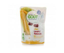 Kapsička kukurica s kačacím mäsom 190 g Good Gout Bio