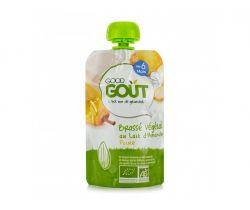 Kapsička mandľový dezert s hruškou 90 g Good Gout Bio