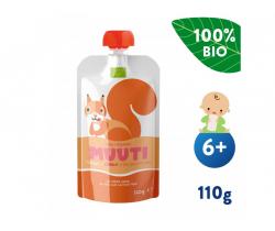 Kapsička Mango s mrkvou a rakytníkom (110 g) Salvest muuta BIO