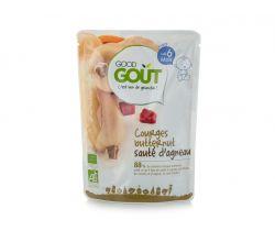 Kapsička maslová tekvica s jahňacím mäsom 190 g Good Gout Bio