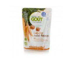 Kapsička mrkva s farmárskym kuriatkom 190 g Good Gout Bio