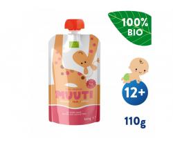 Kapsička Ovocné pyré s ananásovou šťavou a ryžovým proteínom (110 g) Salvest muuta BIO