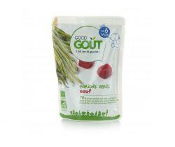 Kapsička zelené fazuľky s hovädzím mäsom 190 g Good Gout Bio