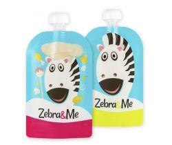 Kapsičky na stravu 2 ks Zebra & Me